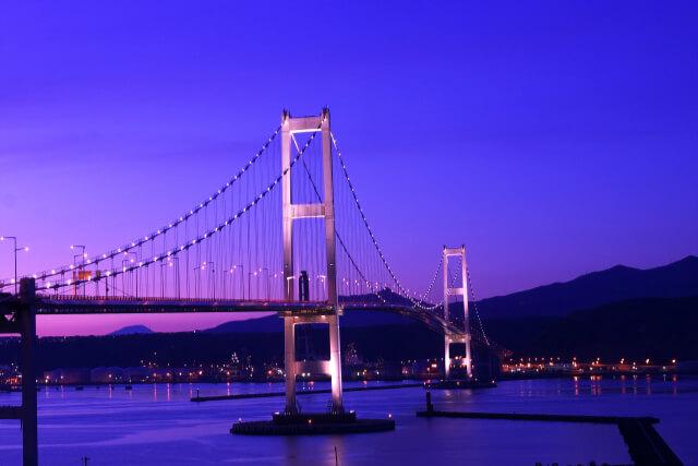 室蘭・地球岬から素敵な夜景が見える白鳥大橋まで歩いてみよう!