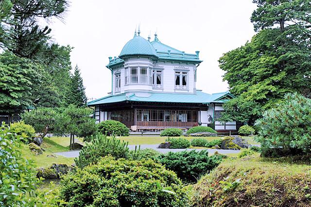 田んぼアート駅から「国の名勝・盛美園」と「弘前さくらまつり」散策コース