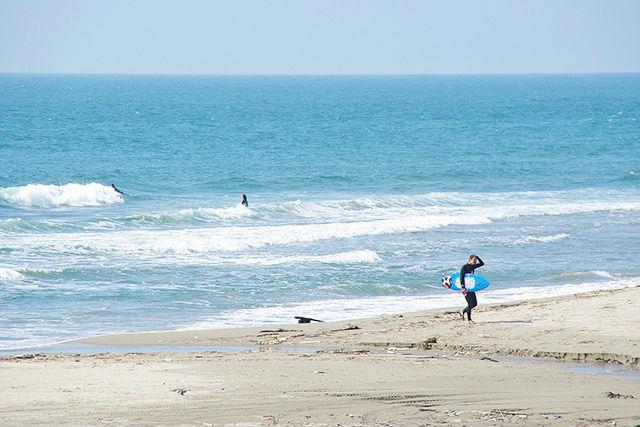湯野浜海岸