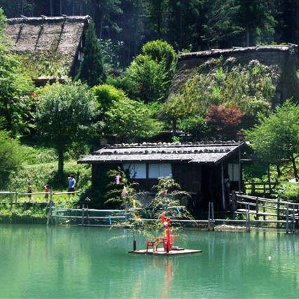 高山駅から国の重要文化財・飛騨の里まで歩いてみよう!