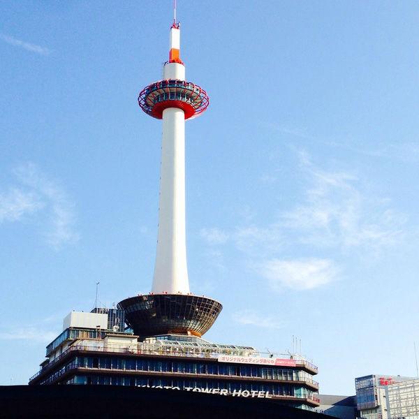 【世界一高い無鉄骨建築】京都タワーを散策してみよう!