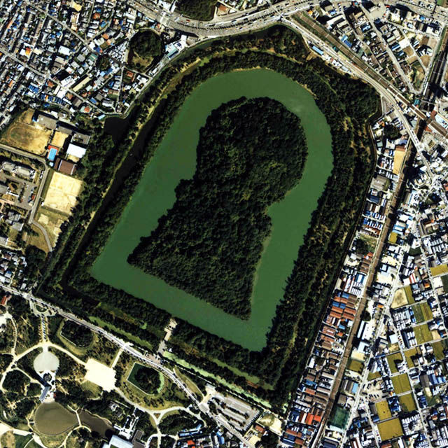 【日本一全長が大きい古墳】 仁徳天皇陵周辺・古墳巡り