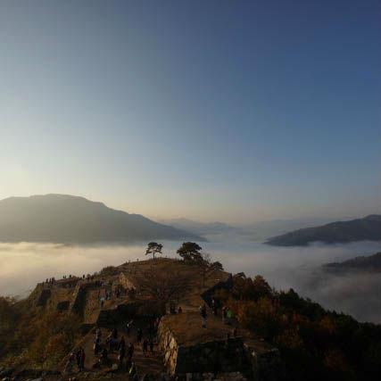 竹田城跡で天空の城ラピュタを体験してみよう!