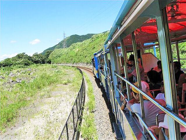 白川水源・南阿蘇トロッコ列車から名水と温泉巡り♪