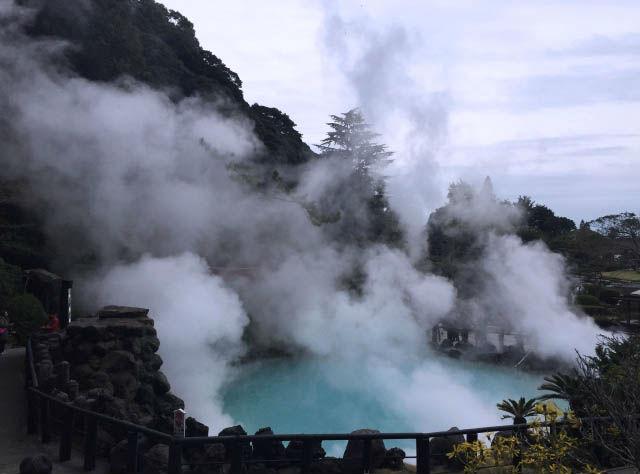【日本一源泉数が多い温泉地】別府温泉・地獄巡りツアー